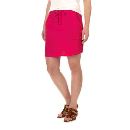 Carve Designs Newport Skirt - Organic Cotton (For Women) in Strawberry - Closeouts