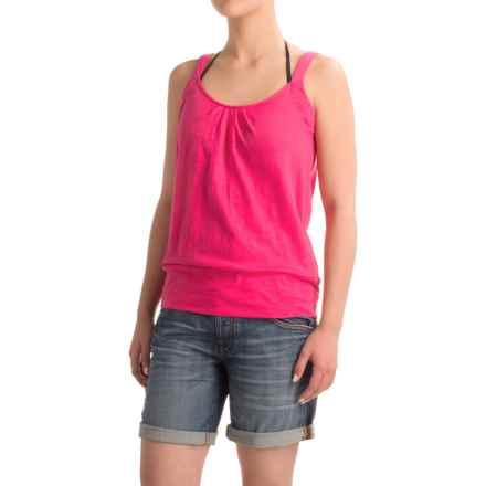 Carve Designs Newport Tank Top - Organic Cotton (For Women) in Strawberry - Closeouts