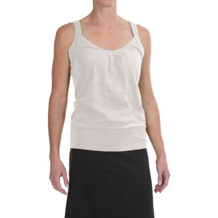 Carve Designs Newport Tank Top - Organic Cotton (For Women) in White Sand - Closeouts