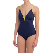 Carve Designs Nosara Swimsuit - UPF 50 (For Women) in Indigo/Citron - Closeouts