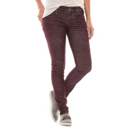 Carve Designs Pacific Cord Pants - Slim Fit (For Women) in Spice - Closeouts