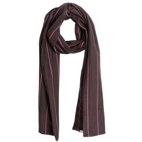 Carve Designs Paris Scarf - Organic Cotton (For Women) in Brown Stripe