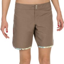 Carve Designs Pipeline Short (For Women) in Walnut - Closeouts