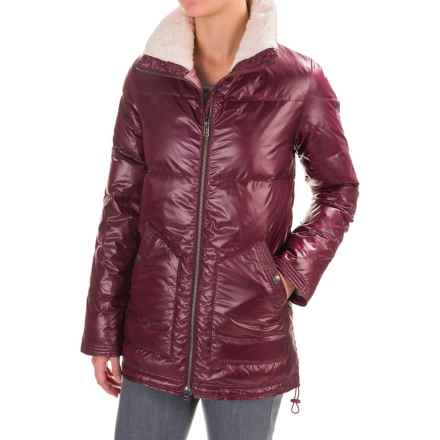 Carve Designs Portillo Down Jacket - 750 FP (For Women) in Mulberry - Closeouts