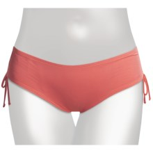 Carve Designs Rincon Bikini Swimsuit Bottoms - UPF 50+ (For Women) in Poppy - Closeouts