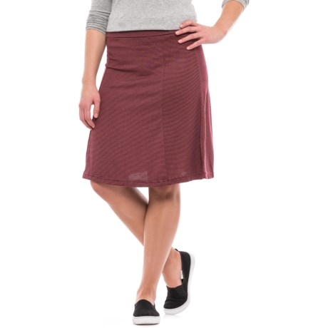Carve Designs Saxon Skirt (For Women) in Mulberry Southwest Stripe