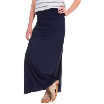 Carve Designs Seabrook Maxi Skirt (For Women) in Anchor - Closeouts
