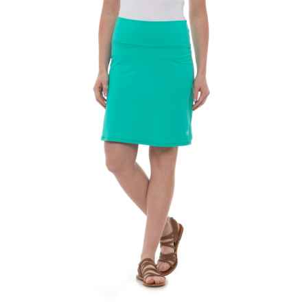 Carve Designs Seaside Skirt - UPF 50 (For Women) in Mint - Closeouts
