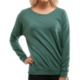 Carve Designs Skyler Boat Neck Shirt - Long Sleeve (For Women)