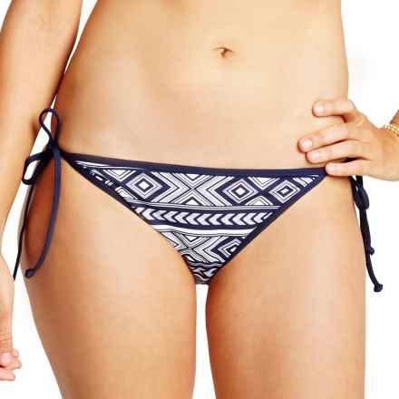 Carve Designs Solana Bikini Bottoms - UPF 50 (For Women) in Anchor Bali - Closeouts