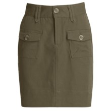 Carve Designs Sonoma Skirt - Sanded Canvas (For Women) in Dusty Olive - Closeouts