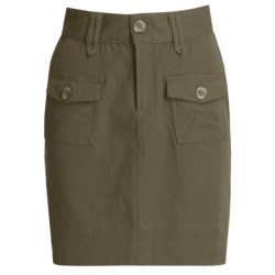 Carve Designs Sonoma Skirt - Sanded Canvas (For Women) in Dusty Olive