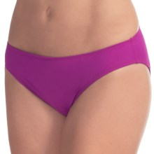 Carve Designs St. Barth Bikini Bottoms - UPF 50 (For Women) in Hibiscus - Closeouts