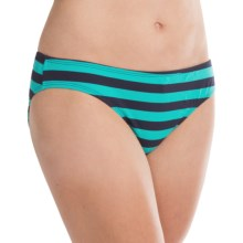 Carve Designs St. Barth Bikini Bottoms - UPF 50 (For Women) in Monaco - Closeouts