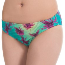 Carve Designs St. Barth Bikini Bottoms - UPF 50 (For Women) in Palms - Closeouts