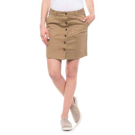 Carve Designs Steamboat Skirt (For Women) in Camel - Closeouts