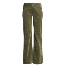 Carve Designs Sun Valley Sailor Pants - Cotton Corduroy, Straight Leg (For Women) in Burnt Olive - Closeouts