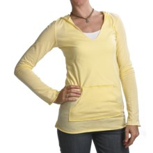 Carve Designs Sunshine Hoodie Shirt - Organic Cotton (For Women) in Yellow - Closeouts