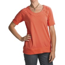 Carve Designs Sunspring Shirt - Organic Cotton, Short Sleeve (For Women) in Poppy - Closeouts