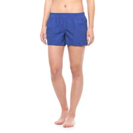 Carve Designs Surfside Shorts - UPF 50 (For Women) in Azure Tides - Closeouts