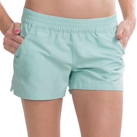 Carve Designs Surfside Shorts - UPF 50+ (For Women) in Coast