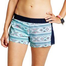 Carve Designs Tallows Shorts - UPF 50 (For Women) in Pool Bali/Anchor - Closeouts