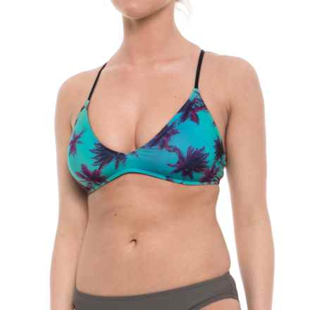 Carve Designs Tamarindo Bikini Top - Removable Padded Cups (For Women) in Palms - Closeouts