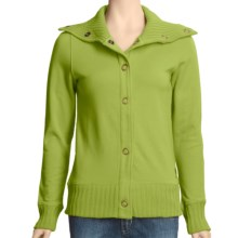 Carve Designs Telluride Jacket - Cotton Terry (For Women) in Wheatgrass - Closeouts