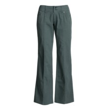 Carve Designs Thayer Pants - Low Rise, Loose Fit (For Women) in Dark Slate - Closeouts