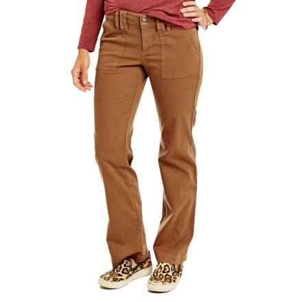 Carve Designs Theron Pants (For Women) in Caramel - Closeouts
