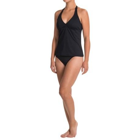 Carve Designs Timor Halter Tankini Top - UPF 50 (For Women) in Black