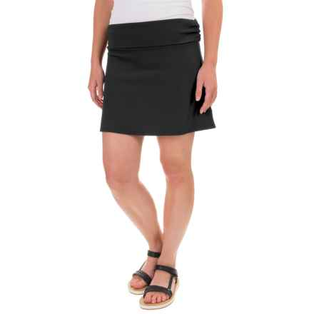 Carve Designs Transit Skirt - Modal Blend (For Women) in Black - Closeouts