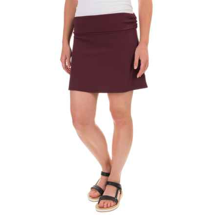 Carve Designs Transit Skirt - Modal Blend (For Women) in Mulberry - Closeouts