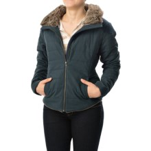 Carve Designs Ventura Puffer Jacket (For Women) in Midnight W/Charcoal - Closeouts