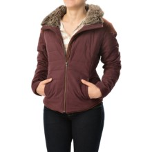 Carve Designs Ventura Puffer Jacket (For Women) in Spice W/ Sienna - Closeouts
