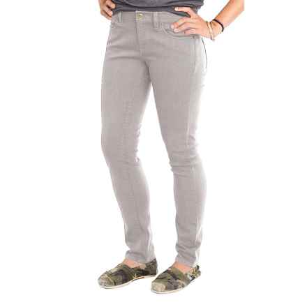 Carve Designs Whitman Slim Pants (For Women) in Grey - Closeouts