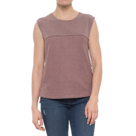 Carve Designs Wilder Shirt - Sleeveless (For Women) in Clay