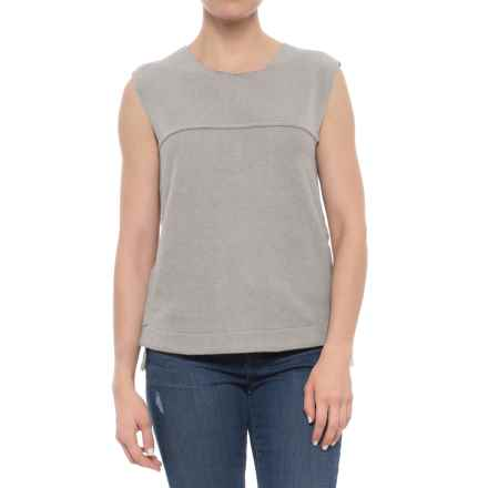 Carve Designs Wilder Shirt - Sleeveless (For Women) in Glacier - Closeouts