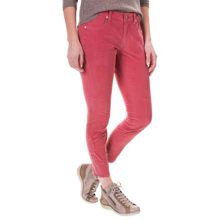 Carve Designs Willow Crop Pants (For Women) in Strawberry - Closeouts
