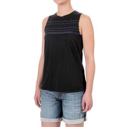 Carve Designs Yukon Tank Top - Organic Cotton-Micromodal® (For Women) in Black - Closeouts