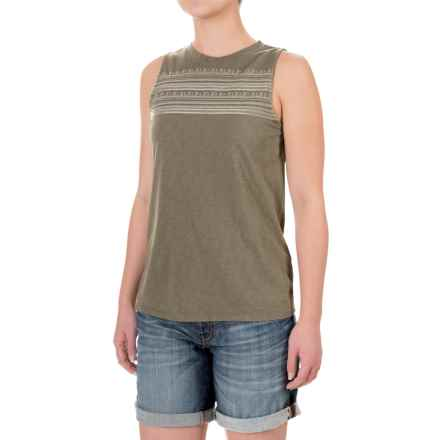 Carve Designs Yukon Tank Top - Organic Cotton-Micromodal® (For Women) in Fatigue - Closeouts