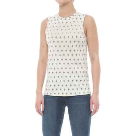 Carve Designs Yukon Tank Top - Organic Cotton-Micromodal® (For Women) in Ivory Montego - Closeouts
