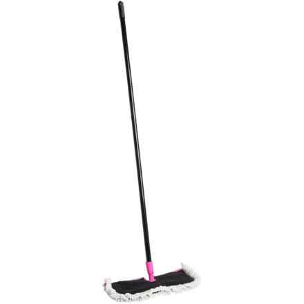Casabella Clean Neon Flip Floor Duster in Pink - Overstock