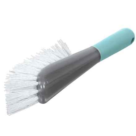 Casabella Smart Scrub Heavy-Duty All-Purpose Brush in Aqua - Closeouts