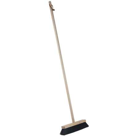 Casabella Wood Basic Broom in See Photo - Closeouts