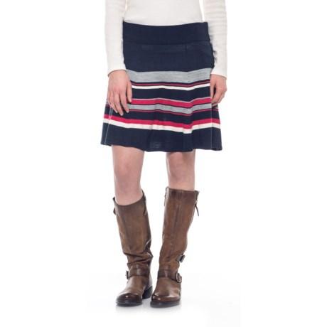 Image of Cascade Valley Skater Skirt - Merino Wool (For Women)