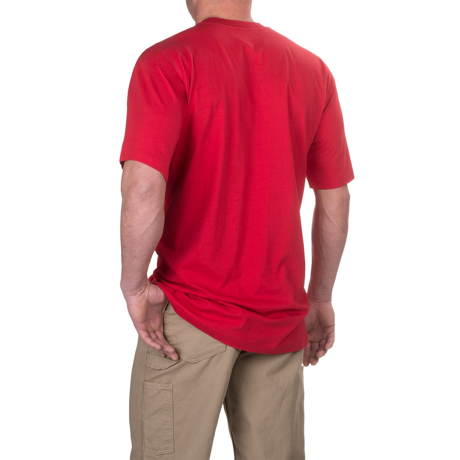 Case ih pocket t shirt for big and tall men save 58 for Big and tall quick dry shirts