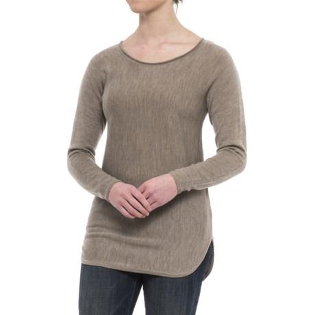 Image of Cashfeel Tunic Shirt - Merino Wool, Long Sleeve (For Women)