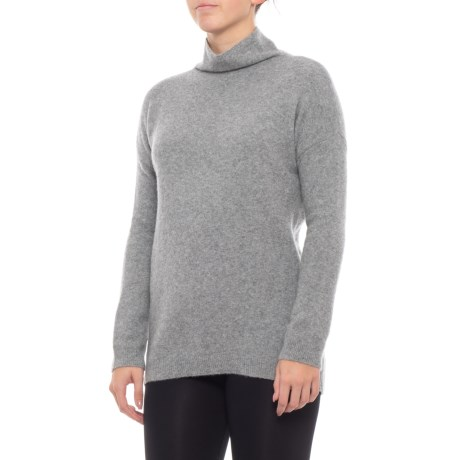 Image of Cashmere Cuddle Sweater - Funnel Neck, Long Sleeve (For Women)