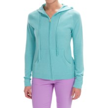 Cashmere Hoodie (For Women) in Aqua - 2nds